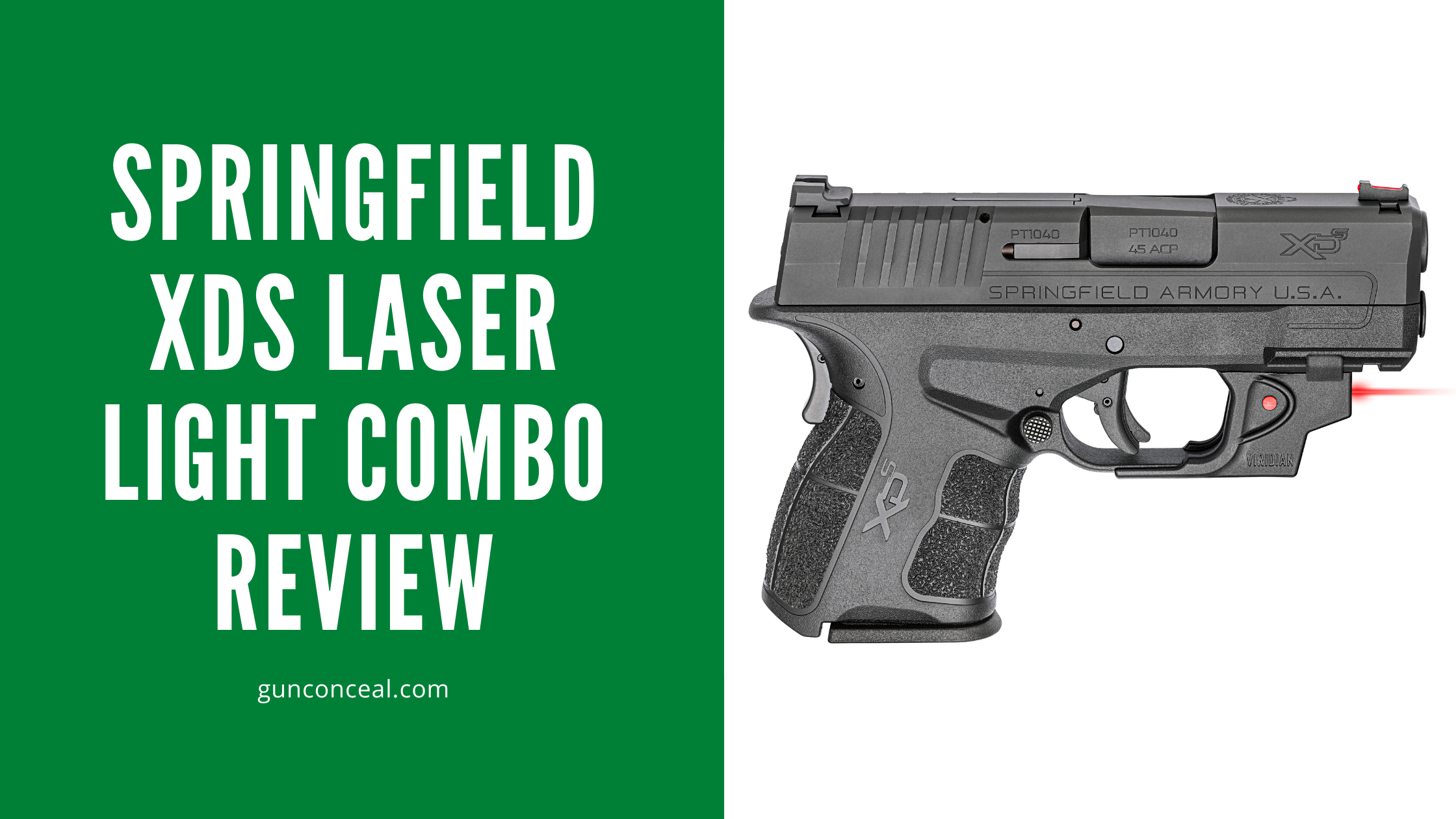 Springfield XDS Laser Light Combo Review