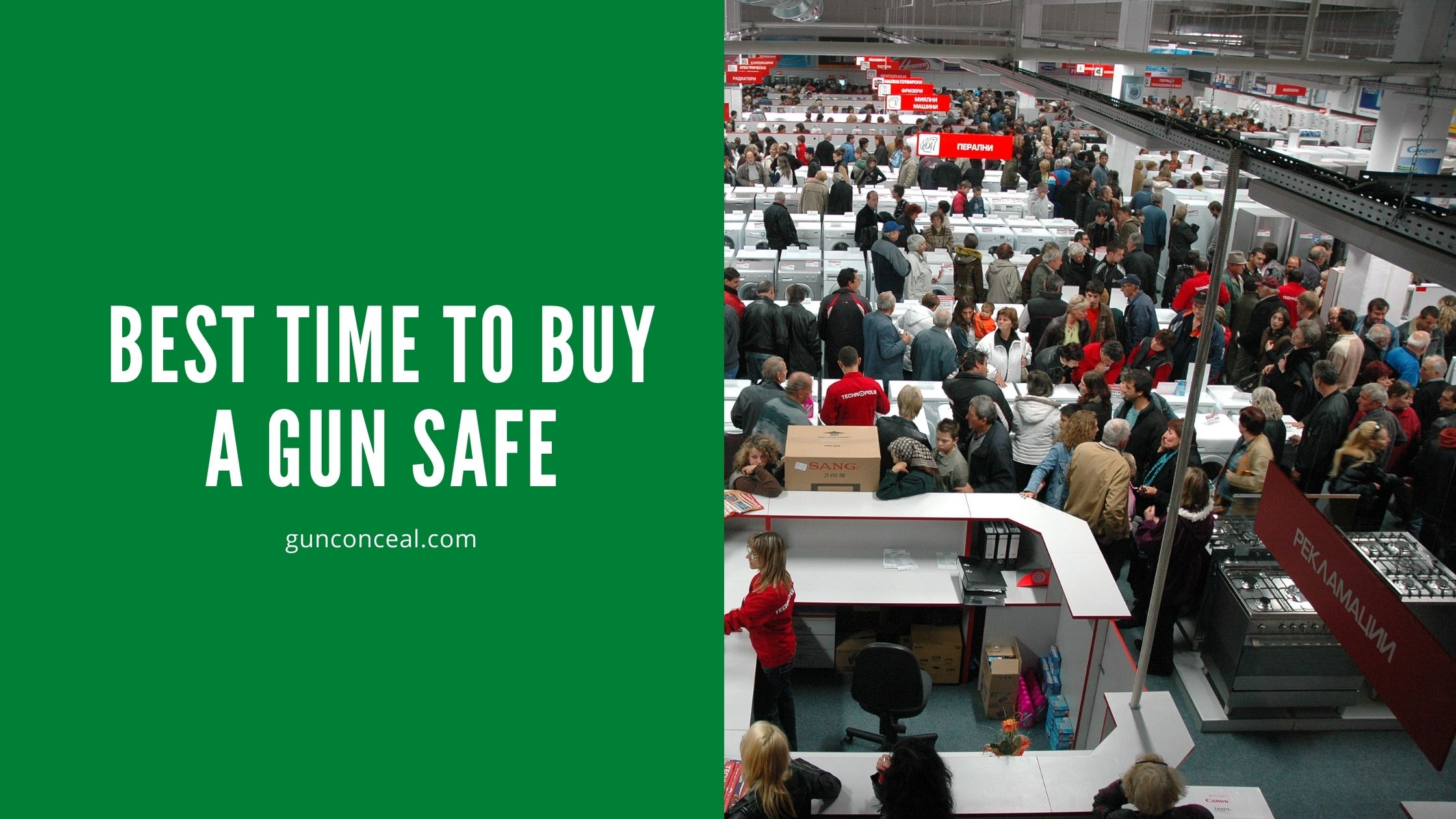 Best Time To Buy A Gun Safe