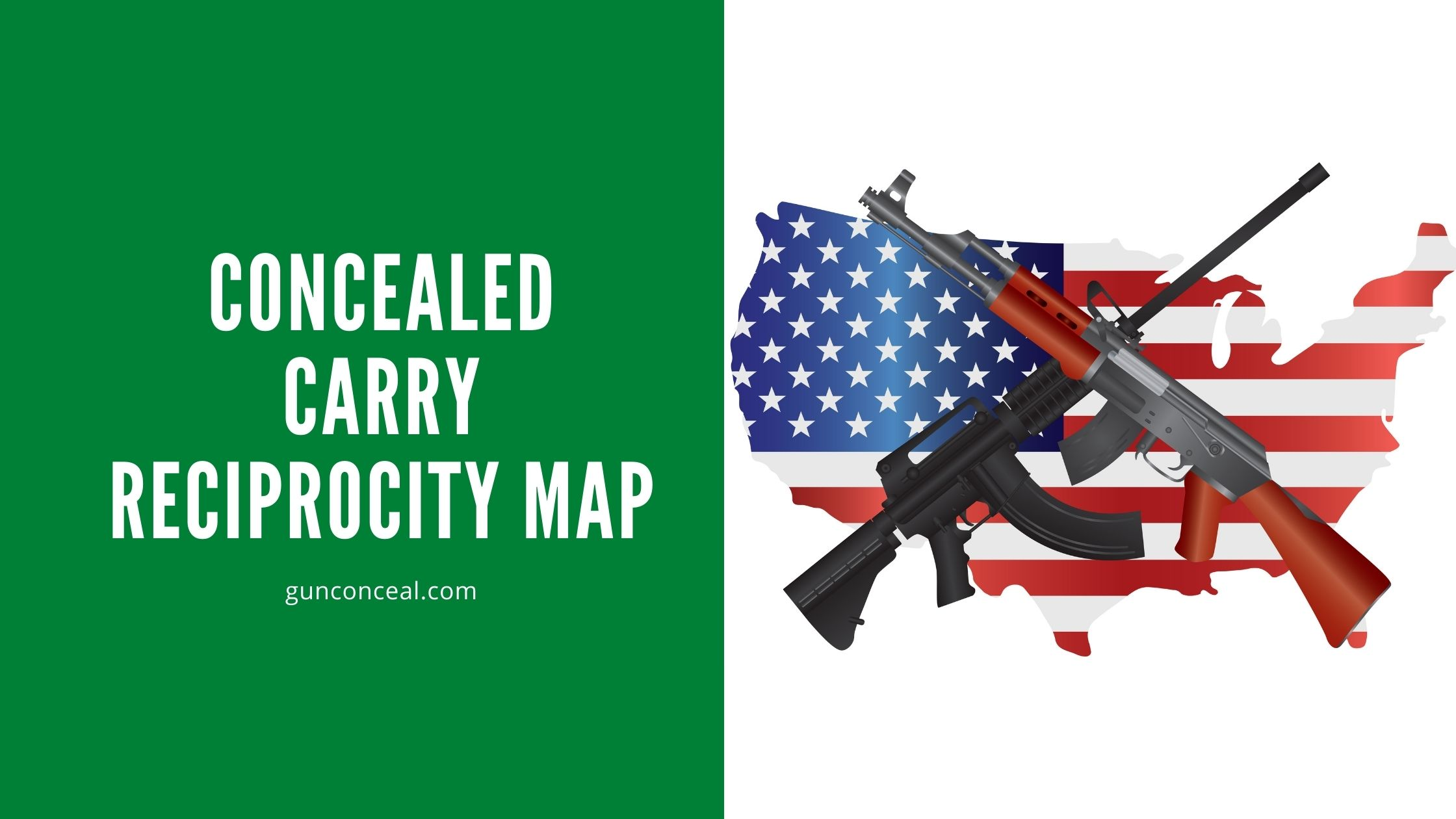 Concealed Carry Reciprocity Map