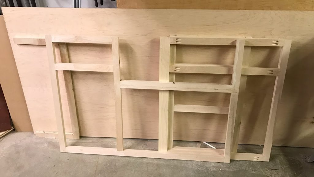 Prepare the frame for cabinet