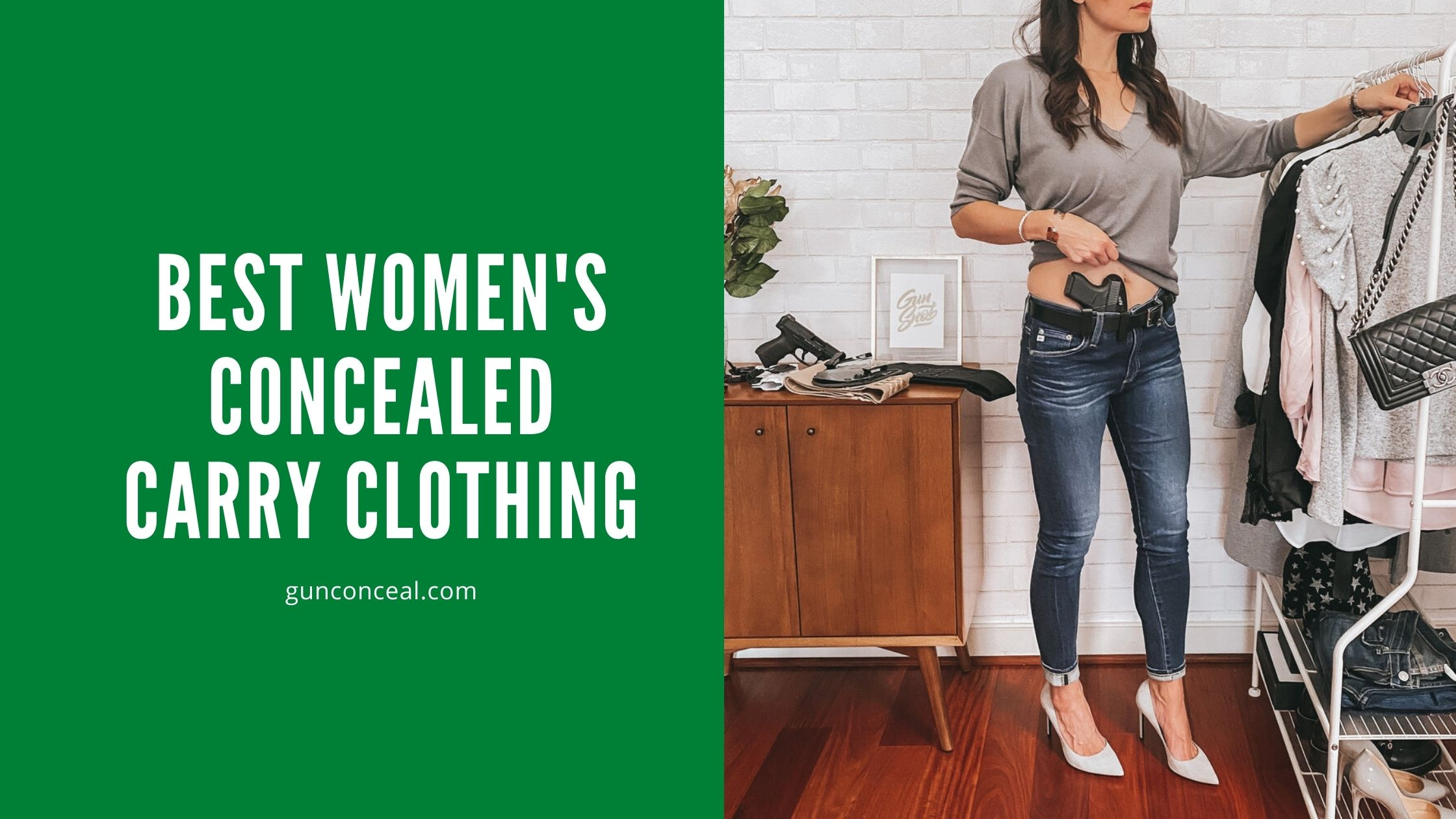 Best women's concealed carry clothing